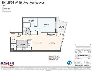 """Photo 20: 304 2525 W 4TH Avenue in Vancouver: Kitsilano Condo for sale in """"SEAGATE"""" (Vancouver West)  : MLS®# R2605996"""