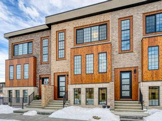 Photo 1: 309 81 Greenbriar Place NW in Calgary: Greenwood/Greenbriar Row/Townhouse for sale : MLS®# A1058995