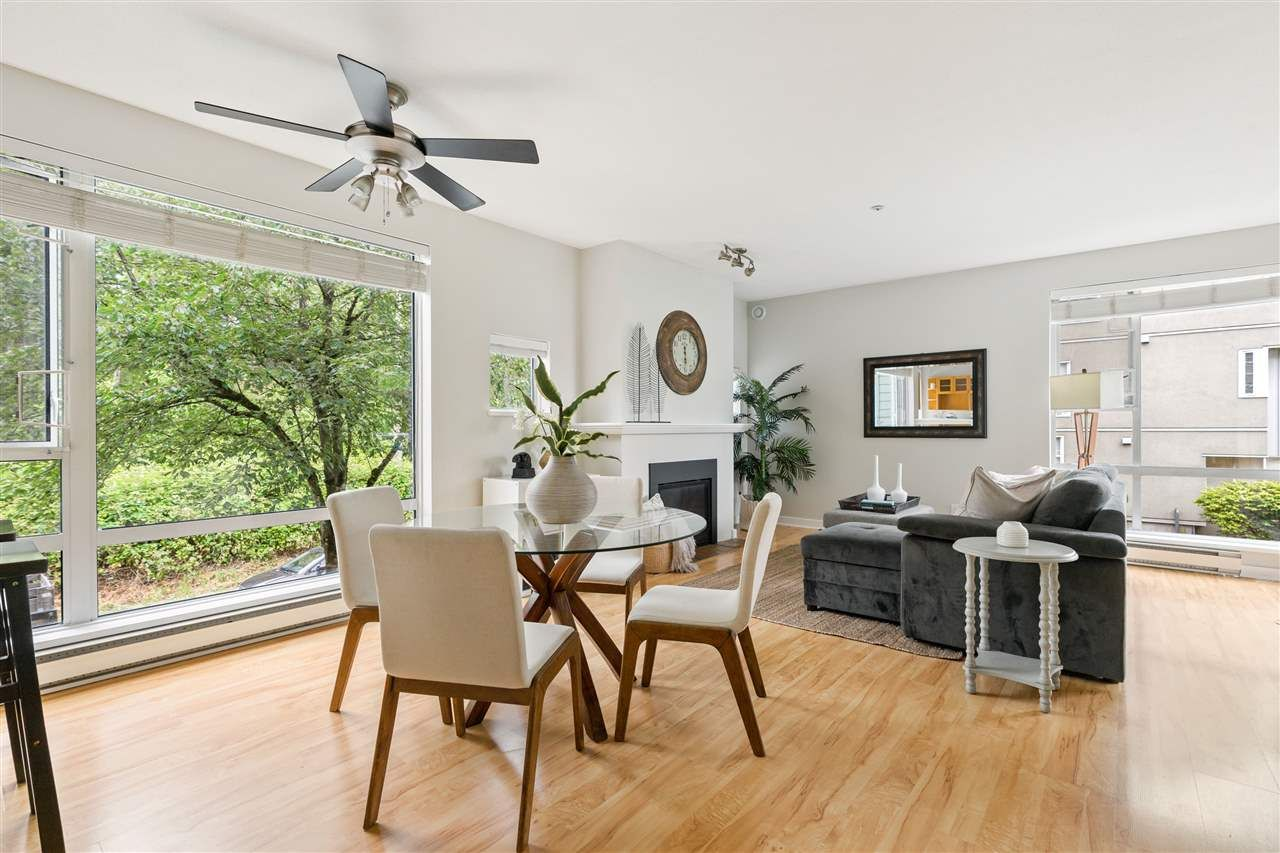 """Main Photo: 210 2080 SE KENT Avenue in Vancouver: South Marine Condo for sale in """"Tugboat Landing"""" (Vancouver East)  : MLS®# R2472110"""
