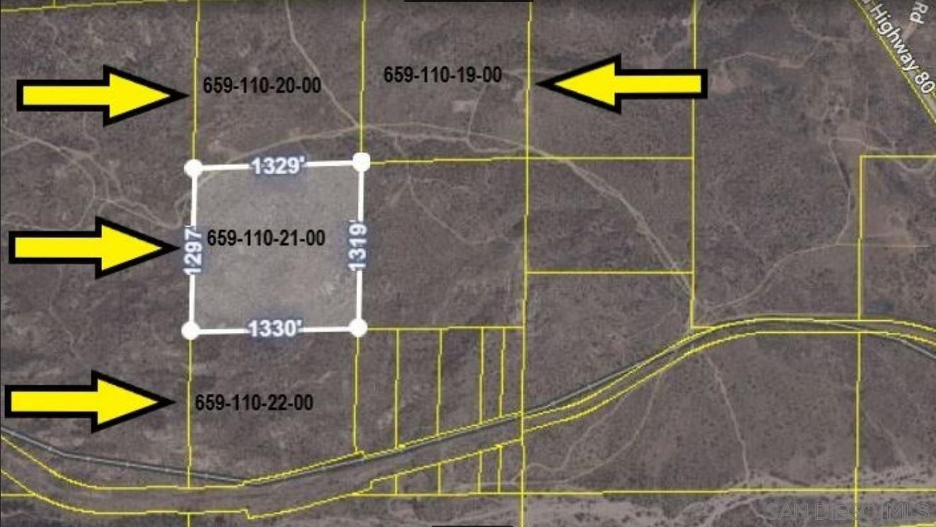 Main Photo: JACUMBA Property for sale: PAR 3 Old Highway 80