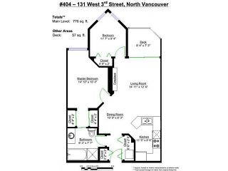 """Photo 20: 404 131 W 3RD Street in North Vancouver: Lower Lonsdale Condo for sale in """"Seascape Landing"""" : MLS®# V1044034"""