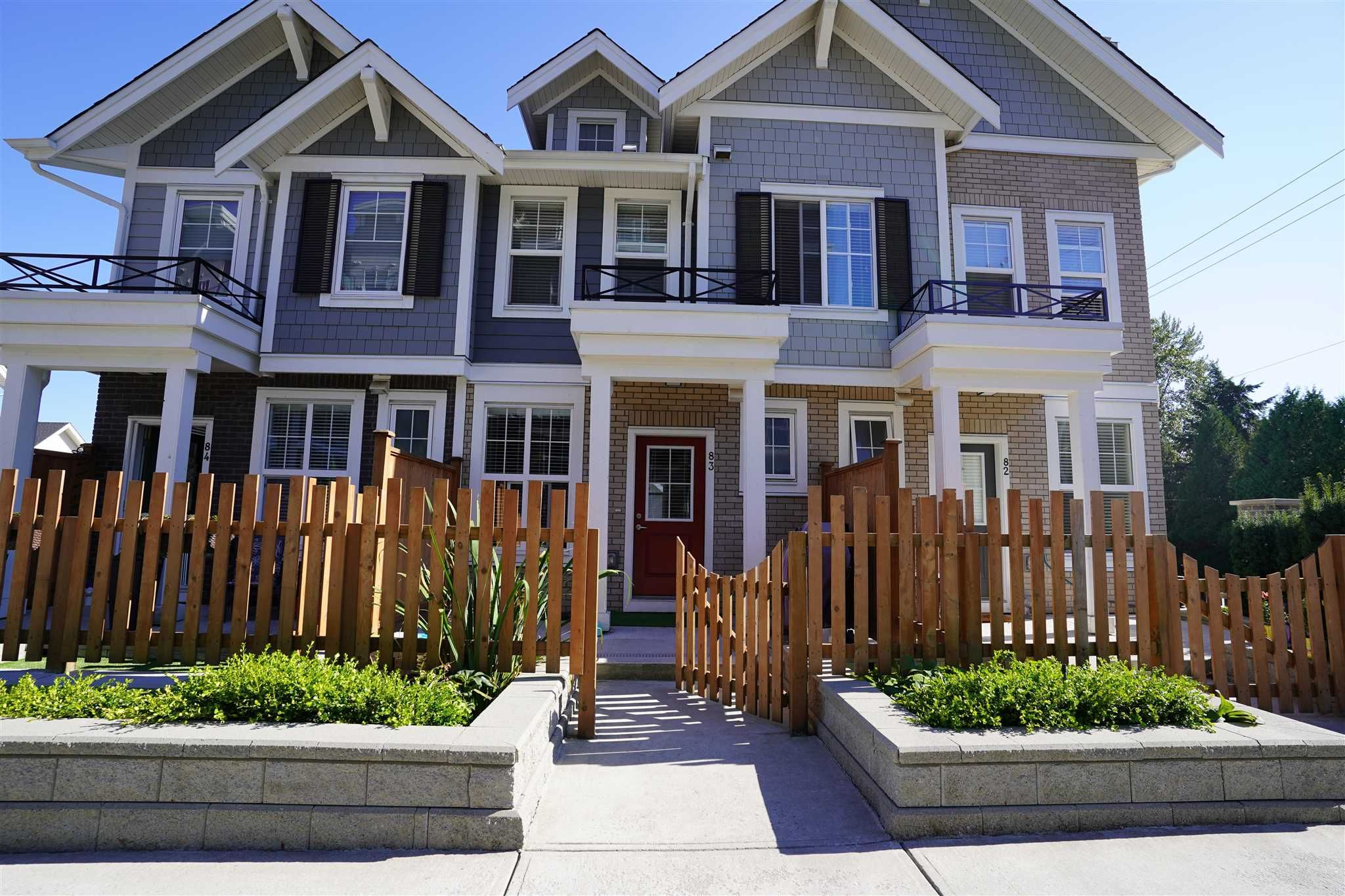 Main Photo: 83 7169 208A Street in Langley: Willoughby Heights Townhouse for sale : MLS®# R2604551