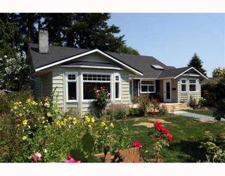 "Photo 1: 5533 6TH Avenue in Tsawwassen: Tsawwassen Central House for sale in ""TSAWWASSEN CENTRAL"" : MLS®# V771772"