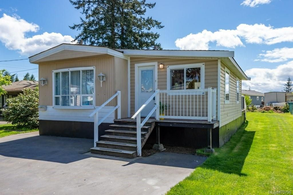 Main Photo: A 3140 N Island Hwy in : CR Campbell River North Manufactured Home for sale (Campbell River)  : MLS®# 875798