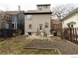 Photo 20: 221 Walnut Street in Winnipeg: West End / Wolseley Residential for sale (West Winnipeg)  : MLS®# 1609946