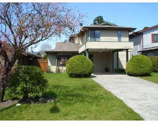 Main Photo: 19021 117A Avenue in Pitt_Meadows: Central Meadows House for sale (Pitt Meadows)  : MLS®# V706170