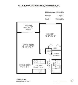 "Photo 16: 318 8900 CITATION Drive in Richmond: Brighouse Condo for sale in ""CHANCELLOR GATE"" : MLS®# R2406818"