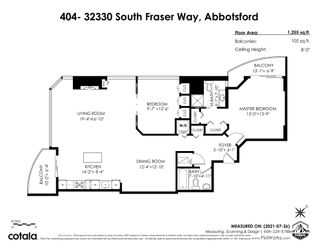 """Photo 26: 404 32330 SOUTH FRASER Way in Abbotsford: Central Abbotsford Condo for sale in """"Town Centre Tower"""" : MLS®# R2605342"""