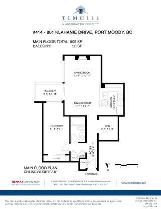 "Photo 32: 414 801 KLAHANIE Drive in Port Moody: Port Moody Centre Condo for sale in ""Inglenook"" : MLS®# R2579721"