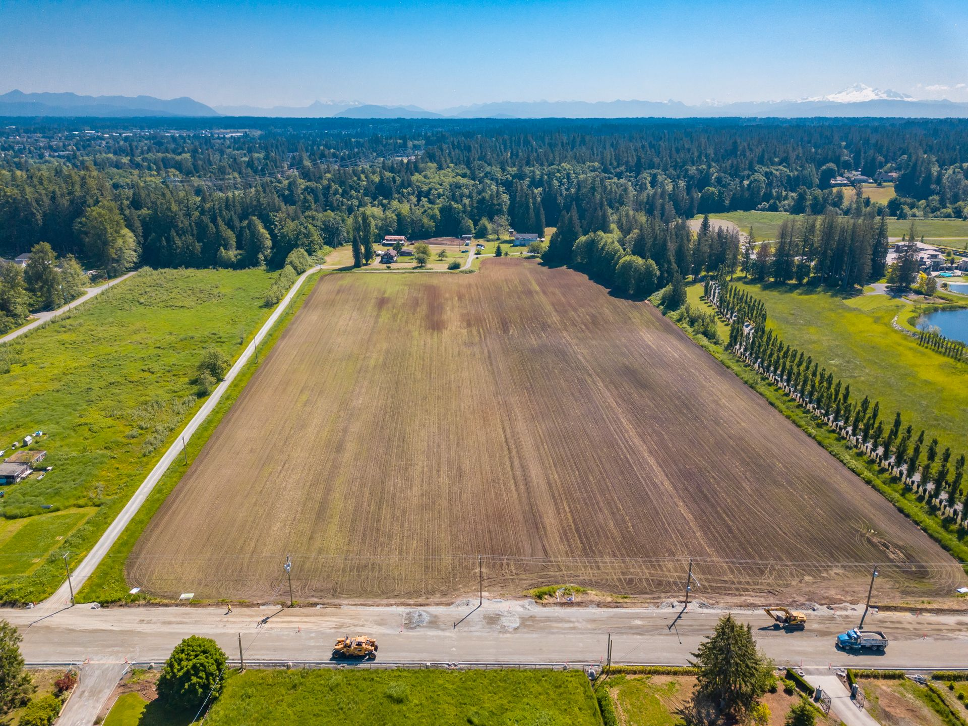 Main Photo: 4664 192 Street in Surrey: Land for sale