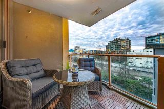 """Photo 6: 404 1633 W 8TH Avenue in Vancouver: Fairview VW Condo for sale in """"Fircrest Gardens"""" (Vancouver West)  : MLS®# R2537315"""