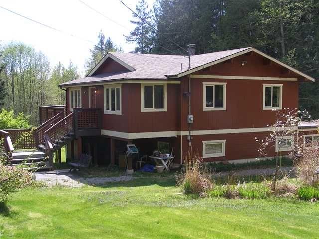 Main Photo: 2703 ROBINSON RD: Roberts Creek House for sale (Sunshine Coast)  : MLS®# V887356