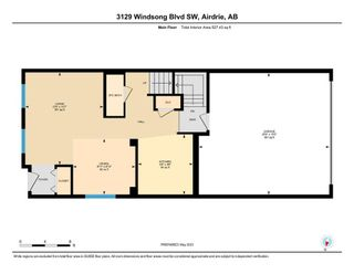 Photo 34: 3129 Windsong Boulevard SW: Airdrie Semi Detached for sale : MLS®# A1104834