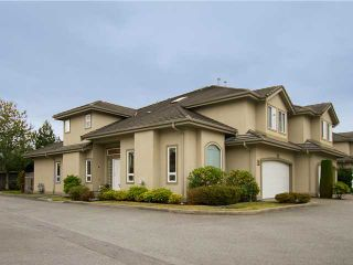 """Photo 1: 19 998 RIVERSIDE Drive in Port Coquitlam: Riverwood Townhouse for sale in """"PARKSIDE PLACE"""" : MLS®# V973342"""