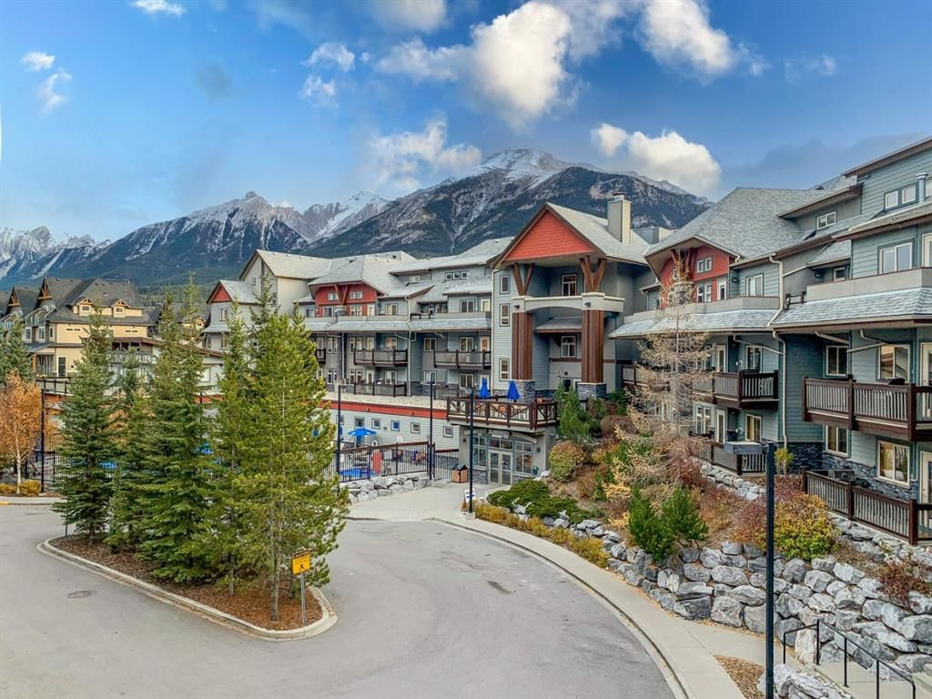 Main Photo: 321 107 Montane Road: Canmore Apartment for sale : MLS®# A1101356