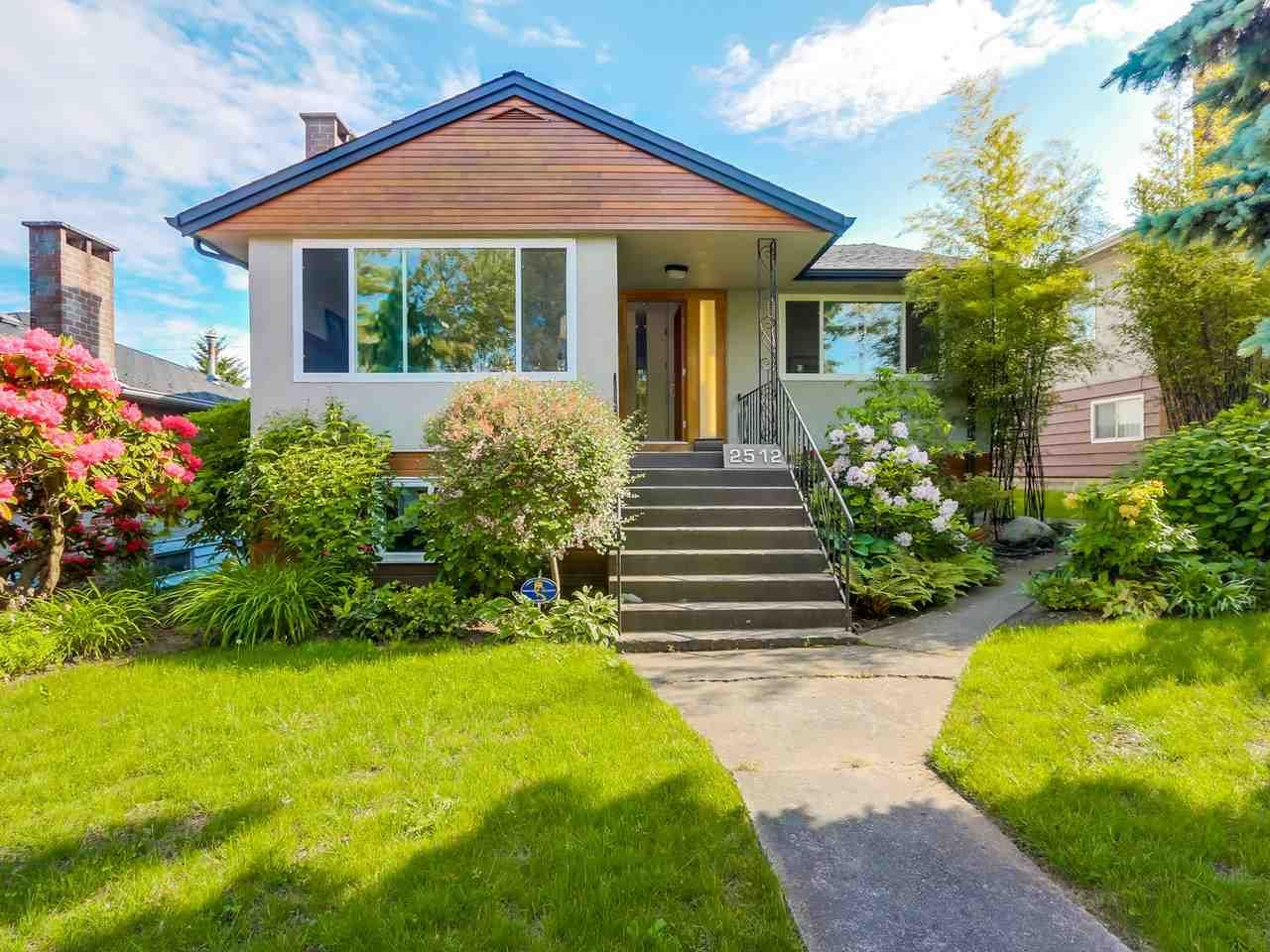 Main Photo: 2512 E 29TH Avenue in Vancouver: Collingwood VE House for sale (Vancouver East)  : MLS®# R2297529