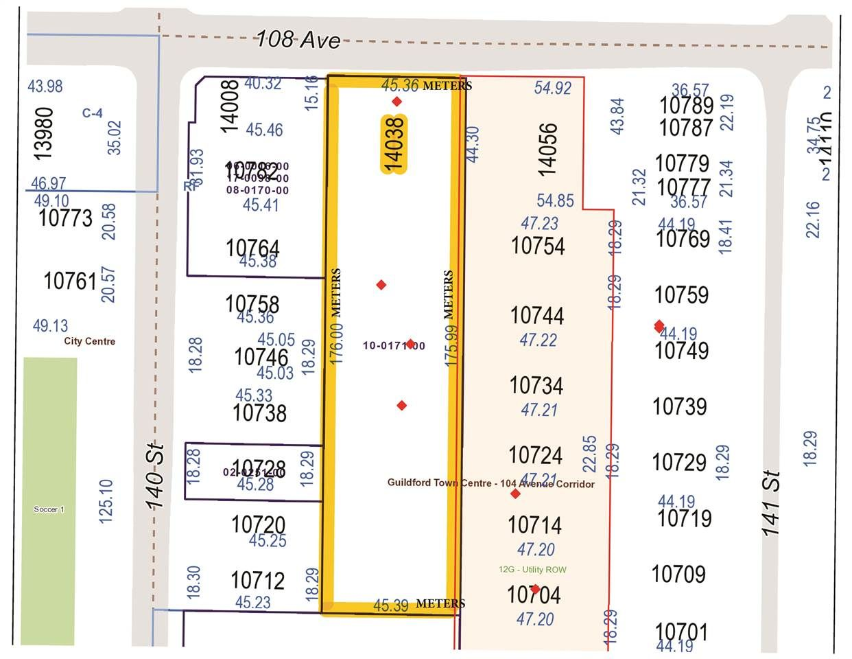 """Main Photo: 14038 108 Avenue in Surrey: Whalley Land for sale in """"WHALLEY"""" (North Surrey)  : MLS®# R2584457"""