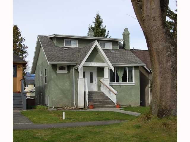 """Main Photo: 317 W 22ND Avenue in Vancouver: Cambie House for sale in """"CAMBIE VILLAGE"""" (Vancouver West)  : MLS®# V817335"""