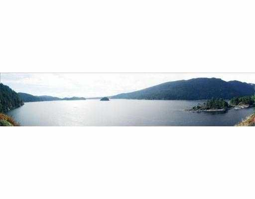 Main Photo: LOT 2 INDIAN ARM BB: Belcarra Land for sale (Port Moody)  : MLS®# V552981