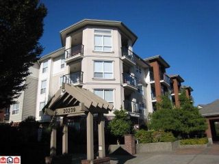 "Photo 1: # 107 20239 MICHAUD CR in Langley: Langley City Condo for sale in ""CITY GRANDE"" : MLS®# F1101531"