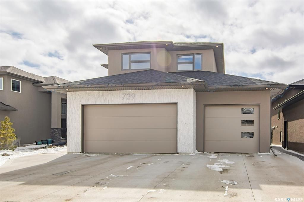 Main Photo: 739 Glacial Shores Bend in Saskatoon: Evergreen Residential for sale : MLS®# SK846772
