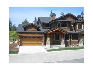 """Photo 1: 93 24185 106B Avenue in Maple Ridge: Albion 1/2 Duplex for sale in """"TRAILS EDGE"""" : MLS®# V881736"""