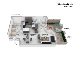 Photo 31: 896 HAMILTON Street in Vancouver: Downtown VW Townhouse for sale (Vancouver West)  : MLS®# R2621491