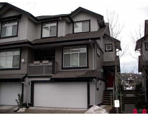 "Main Photo: 18839 69TH Avenue in SURREY: Clayton Townhouse for sale in ""STARPOINT II"" (Cloverdale)  : MLS®# F2626999"
