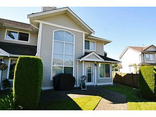 "Photo 1: 4 1370 RIVERWOOD Gate in Port Coquitlam: Riverwood Townhouse for sale in ""ADDINGTON GATE"" : MLS®# V1074048"