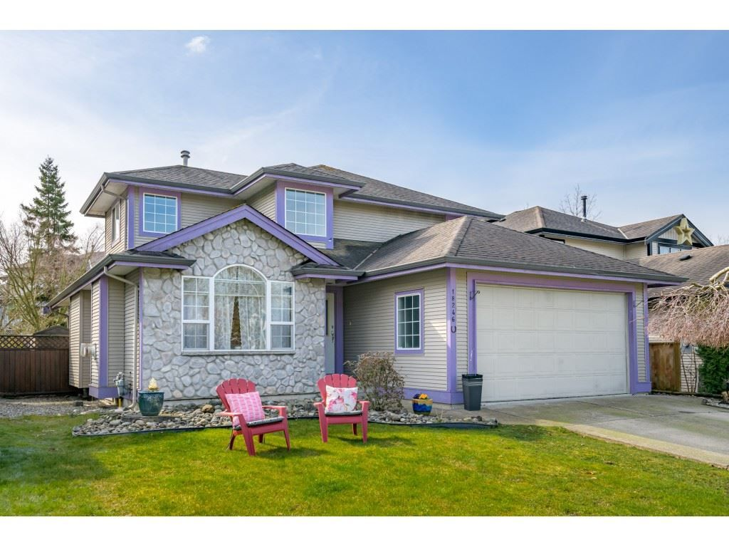 "Main Photo: 18246 69 Avenue in Surrey: Cloverdale BC House for sale in ""CLOVERWOODS"" (Cloverdale)  : MLS®# R2552795"