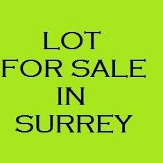 Photo 1: 12028 99TH Avenue in Surrey: Cedar Hills Land for sale (North Surrey)  : MLS®# F1100653