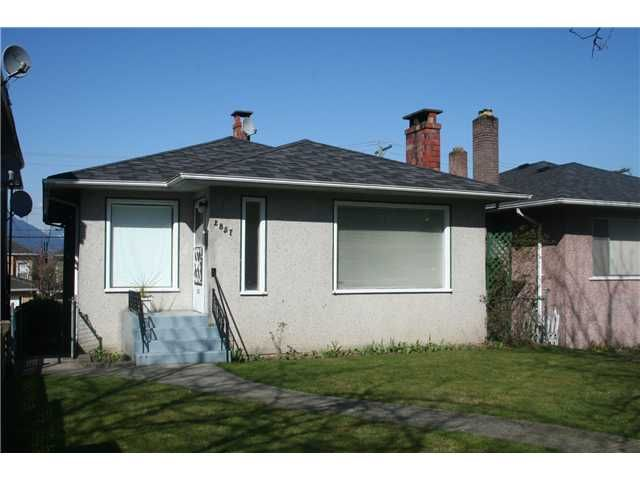 Main Photo: 2857 E 22ND Avenue in Vancouver: Renfrew Heights House for sale (Vancouver East)  : MLS®# V997966