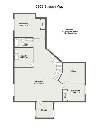 Photo 43: 6103 STINSON Way in Edmonton: Zone 14 House for sale : MLS®# E4245235