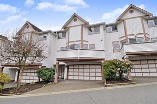 "Photo 1: 104 1232 JOHNSON Street in Coquitlam: Scott Creek Townhouse for sale in ""GREENHILL PLACE"" : MLS®# R2438974"
