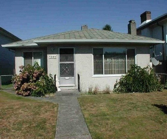 Main Photo: 2889 MCGILL STREET in Vancouver: Hastings Sunrise House for sale (Vancouver East)  : MLS®# R2499487