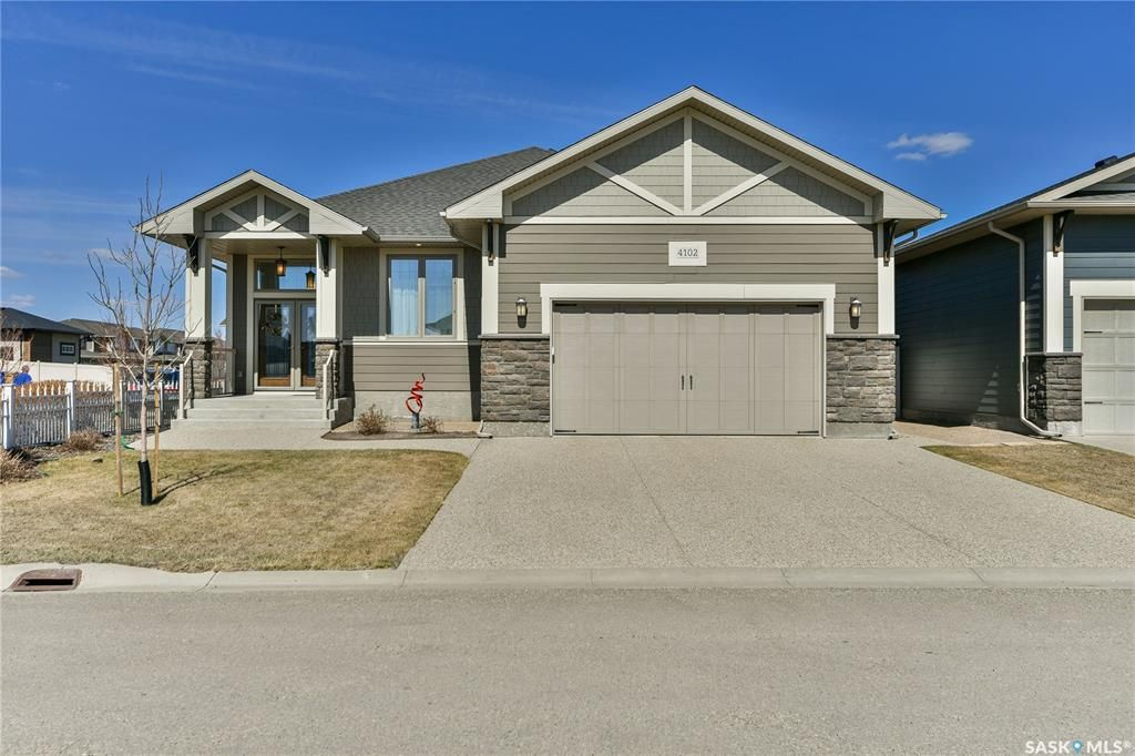 Main Photo: 4102 Timber Creek Place in Regina: The Creeks Residential for sale : MLS®# SK849190