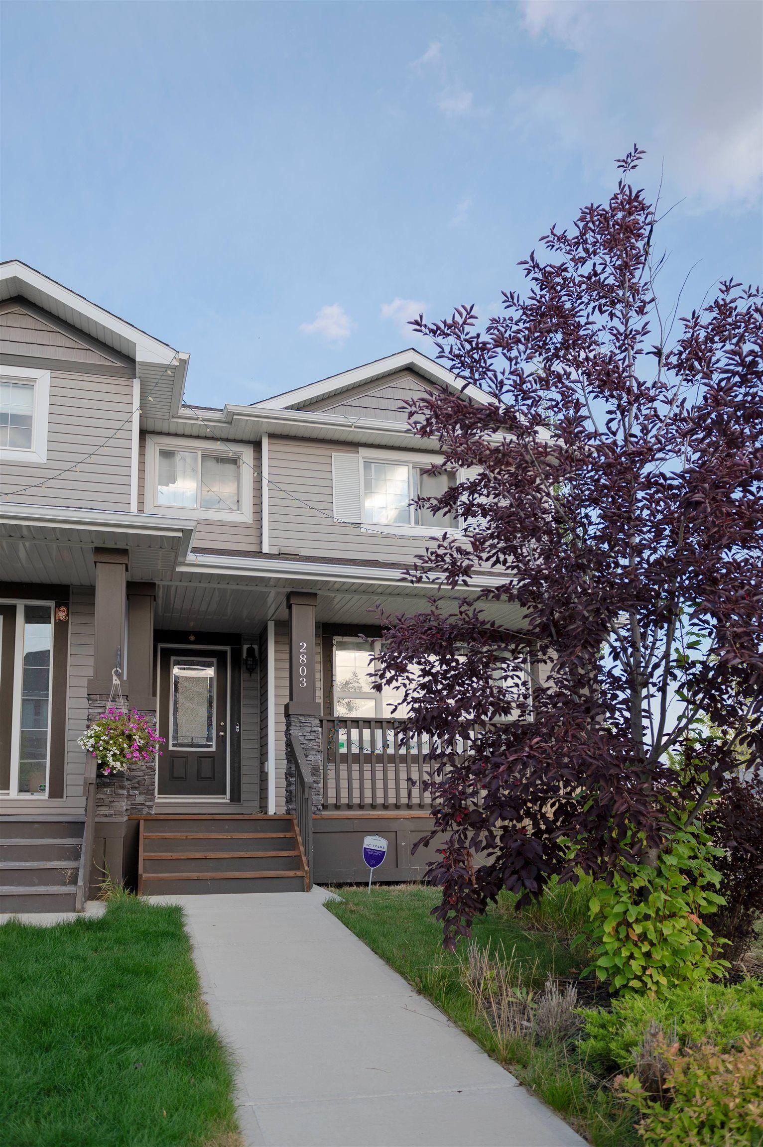 Main Photo: 2803 15 Street in Edmonton: Zone 30 House Half Duplex for sale : MLS®# E4263064