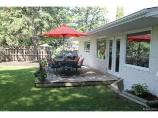 Photo 18: 178 Palliser Avenue in WINNIPEG: St James Residential for sale (West Winnipeg)  : MLS®# 1415009