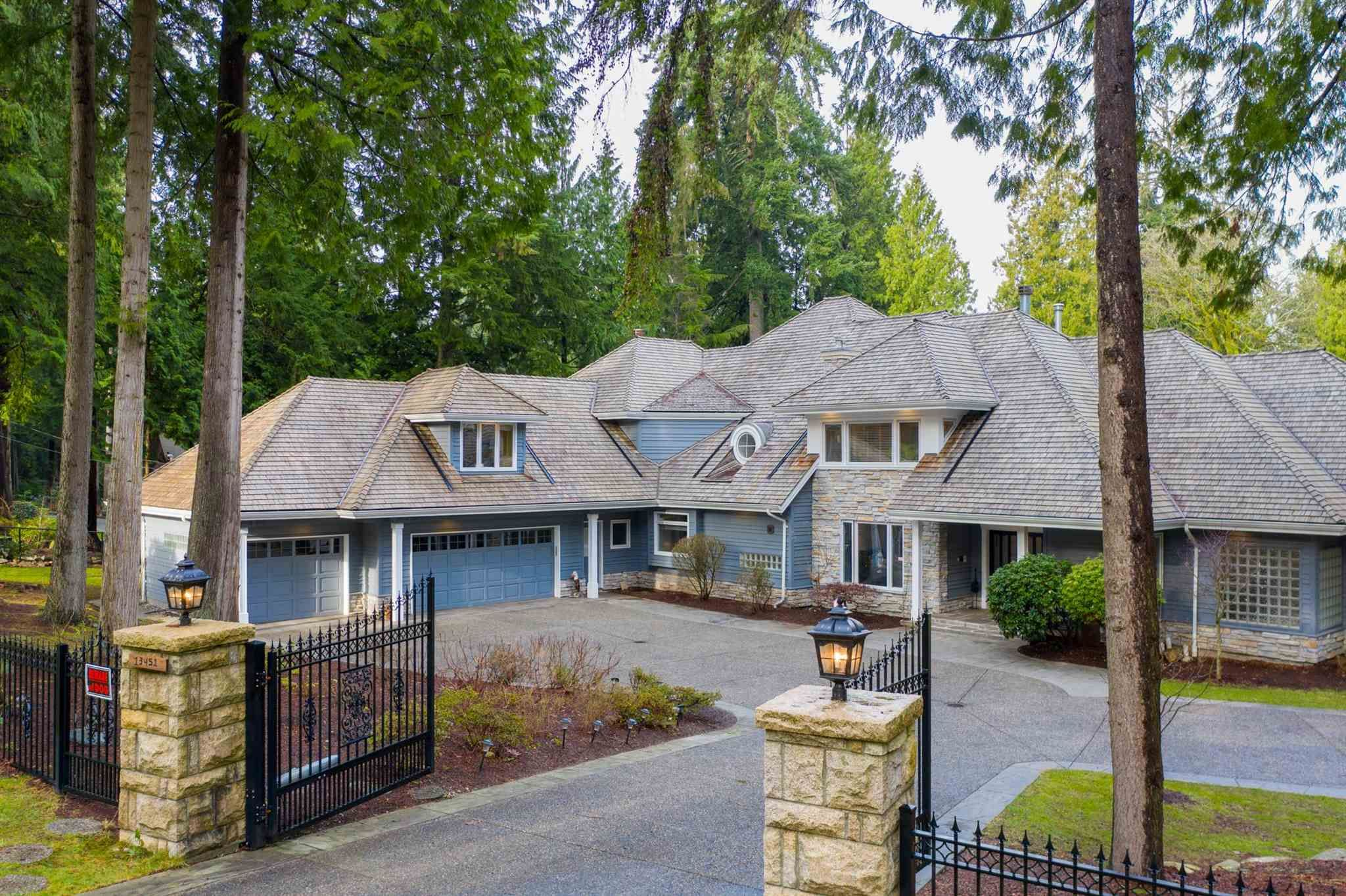 Main Photo: 13451 VINE MAPLE Drive in Surrey: Elgin Chantrell House for sale (South Surrey White Rock)  : MLS®# R2595800