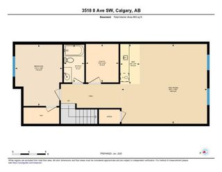 Photo 36: 3518 8 Avenue SW in Calgary: Spruce Cliff Semi Detached for sale : MLS®# C4278128