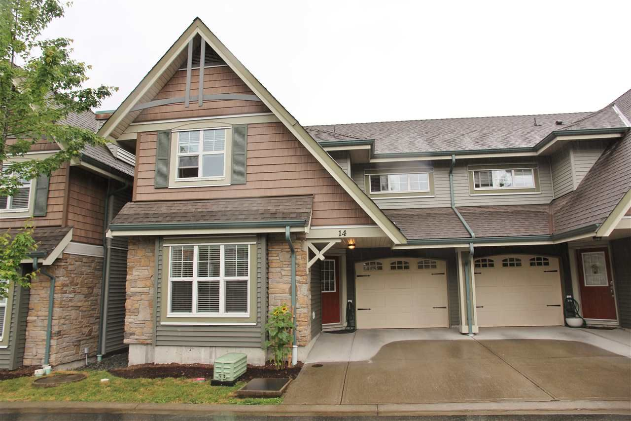 Main Photo: 14 22977 116 AVENUE in : East Central Townhouse for sale (Maple Ridge)  : MLS®# R2076187