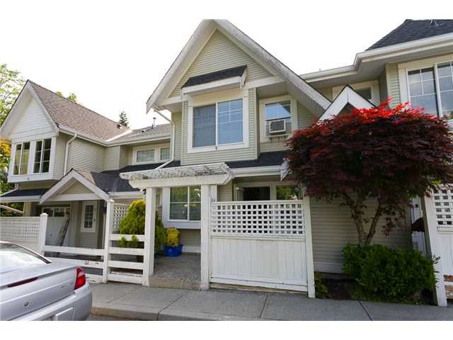 """Main Photo: 14 23560 119TH Avenue in Maple Ridge: Cottonwood MR Townhouse for sale in """"HOLLYHOCK"""" : MLS®# V1065890"""