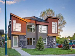 Main Photo: 904 36A Street NW in Calgary: Parkdale Semi Detached for sale : MLS®# A1095611