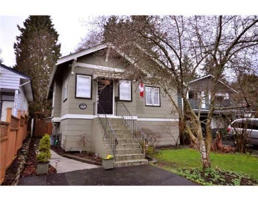 Main Photo: 3279 FROMME RD in North Vancouver: House for sale : MLS®# V874082