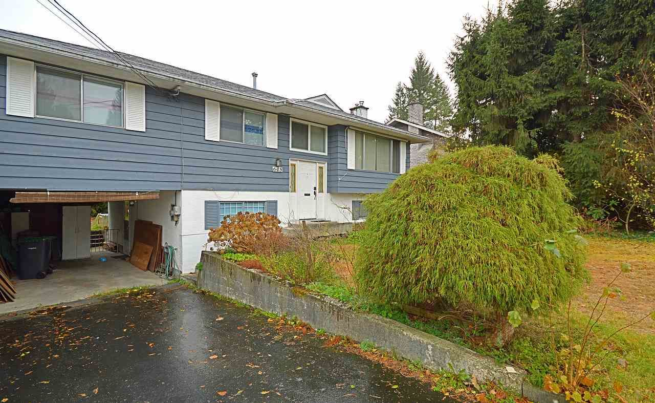 Photo 1: Photos: 645 CYPRESS Street in Coquitlam: Central Coquitlam House for sale : MLS®# R2017158
