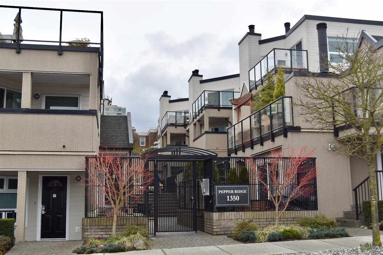 """Main Photo: 13 1350 W 6TH Avenue in Vancouver: Fairview VW Condo for sale in """"Pepper Ridge"""" (Vancouver West)  : MLS®# R2141623"""