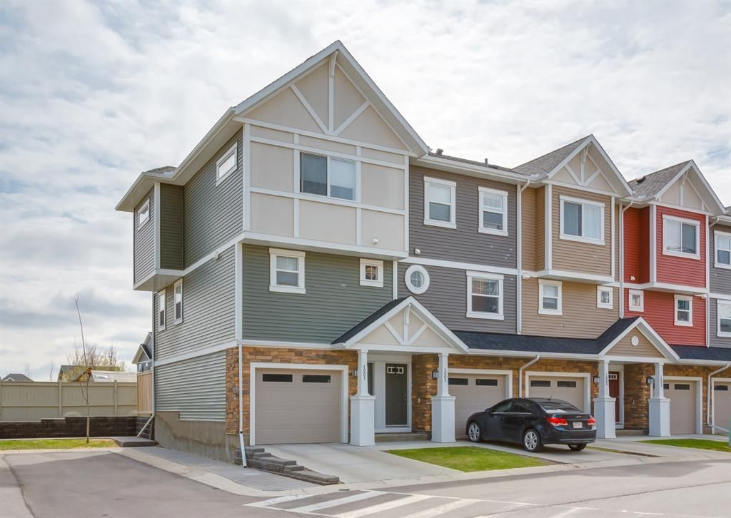 Main Photo: 1001 1225 Kings Heights Way SE: Airdrie Row/Townhouse for sale : MLS®# A1111490