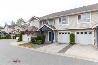"Photo 1: 25 6513 200 Street in Langley: Willoughby Heights Townhouse for sale in ""LOGAN CREEK"" : MLS®# R2397754"