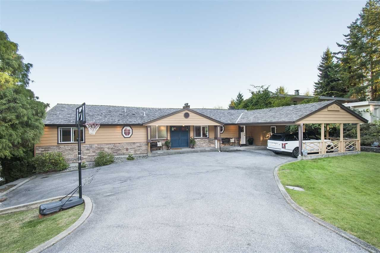 Main Photo: 870 GREENWOOD ROAD in West Vancouver: British Properties House for sale : MLS®# R2226504