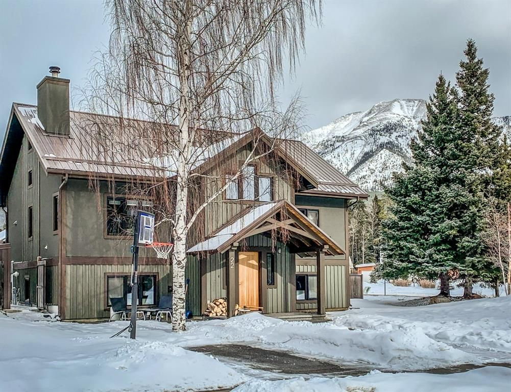 Main Photo: 22 Mt. Peechee Place: Canmore Detached for sale : MLS®# A1074273